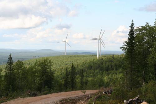 vindkraftverken